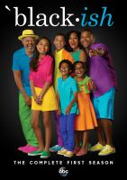 Cover image for Black-ish. The complete first season [videorecording (DVD)]