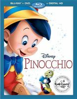 Cover image for Pinocchio [videorecording (Blu-ray)]
