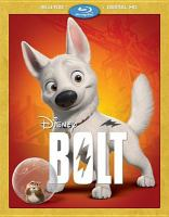 Cover image for Bolt [videorecording (Blu-ray)]