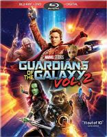 Cover image for Guardians of the galaxy. Vol. 2 [videorecording (Blu-ray)]