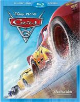 Cover image for Cars 3 [videorecording (Blu-ray)]