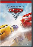 Cover image for Cars 3 [videorecording (DVD)]