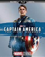 Cover image for Captain America, the first avenger [videorecording (Blu-ray)]