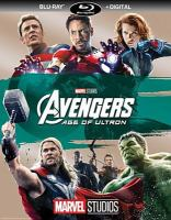 Cover image for Avengers, age of Ultron [videorecording (Blu-ray)]