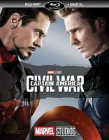 Cover image for Captain America: civil war [videorecording (Blu-ray)]