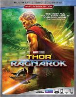 Cover image for Thor. Ragnarok [videorecording (Blu-ray)]