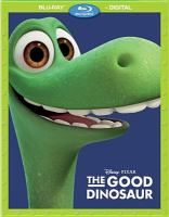 Cover image for The good dinosaur [videorecording (Blu-ray)]