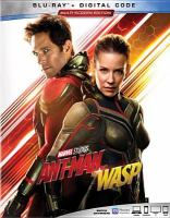 Cover image for Ant-man and the wasp [videorecording (Blu-ray)]