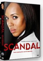 Cover image for Scandal  [videorecording (DVD)] Complete sixth season