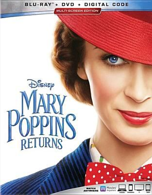 Cover image for Mary Poppins returns [videorecording (Blu-ray)]