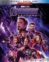 Cover image for Avengers, endgame [videorecording (Blu-ray)]