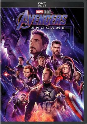 Cover image for Avengers, endgame [videorecording (DVD)] / directors, Anthony Russo, Joe Russo ; producers, Kevin Feige ; writers, Christopher Markus, Stephen McFeely.