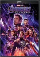 Cover image for Avengers, endgame [videorecording (DVD)]