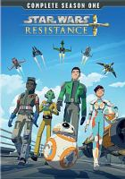 Cover image for Star Wars resistance. Season 1 [videorecording (DVD)]