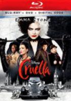 Cover image for Cruella [videorecording (Blu-ray)]