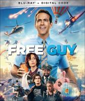 Cover image for Free guy [videorecording (Blu-ray)]