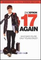 Cover image for 17 again [videorecording (DVD)]