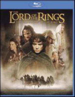 Cover image for The lord of the rings. The fellowship of the ring [videorecording (Blu-ray)]