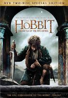 Cover image for The hobbit. The battle of the five armies [videorecording (DVD)]