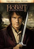Cover image for The hobbit [videorecording (DVD)] : an unexpected journey