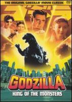Cover image for Godzilla, king of the monsters! [videorecording (DVD)]