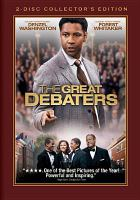 Cover image for The great debaters [videorecording (DVD)]