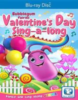 Cover image for Bubblegum fairies. Valentines Day party [videorecording (Blu-ray)].