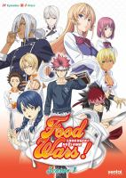 Cover image for Food wars!. Season 1 [videorecording (DVD)]
