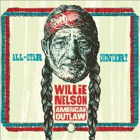 Cover image for Willie Nelson American outlaw [sound recording (CD)] : All-star concert.