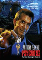 Cover image for Psycho III [videorecording (DVD)]