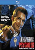 Cover image for Psycho III [videorecording (Blu-ray)]