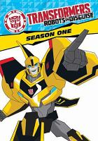 Cover image for Transformers, robots in disguise. Season one [videorecording (DVD)].