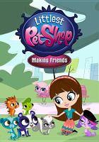 Cover image for Littlest pet shop. Making friends [videorecording (DVD)].