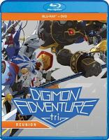 Cover image for Digimon adventure tri, reunion [videorecording (Blu-ray)].