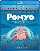 Cover image for Ponyo [videorecording (Blu-ray)]