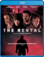 Cover image for The rental [videorecording (Blu-ray)]