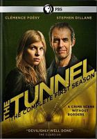 Cover image for The tunnel. The complete first season [videorecording (DVD)]
