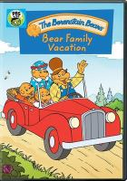 Cover image for The Berenstain bears. Bear family vacation [videorecording (DVD)].