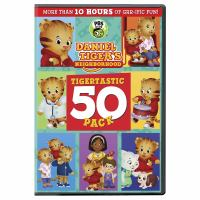Cover image for Daniel Tiger's neighborhood. Tigertastic 50 pack [videorecording (DVD)].
