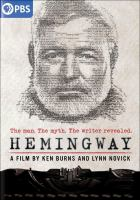 Cover image for Hemingway [videorecording (DVD)]