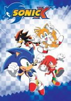 Cover image for Sonic X. Collection 01, Seasons 1 & 2, Episodes 1-52.