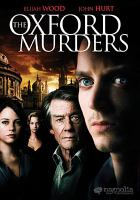 Cover image for The Oxford murders [videorecording (DVD)]