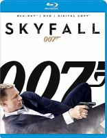 Cover image for Skyfall [videorecording (Blu-ray)].