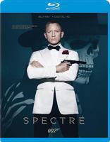Cover image for Spectre [videorecording (Blu-ray)]