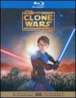 Cover image for Star wars, the clone wars [videorecording (Blu-ray)]