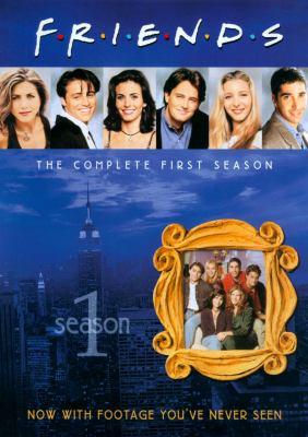 Cover image for Friends. Season 1 [videorecording (DVD)]