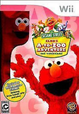 Cover image for Sesame Street Elmo's A-to-zoo adventure [electronic resource (video game)] : the videogame.