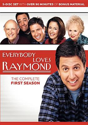 Cover image for Everybody loves Raymond. The complete first season [videorecording (DVD)]