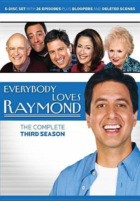 Cover image for Everybody loves Raymond. The complete third season [videorecording (DVD)].