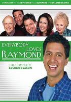 Cover image for Everybody loves Raymond. The complete second season [videorecording (DVD)]
